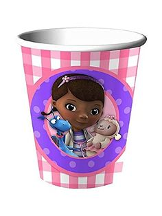 Doc McStuffins 9oz Party Paper Cups 8... $1.59 #topseller