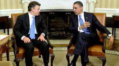 Santos visita a Obama con miras en ayuda al posconflicto en Colombia