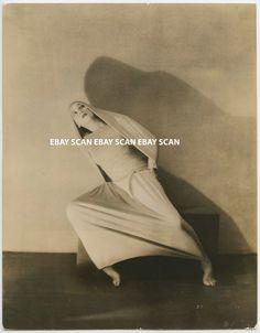 MARTHA GRAHAM DANCER VINTAGE DBL WT PORTRAIT PHOTO BY SOICHI SUNAMI