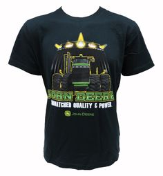 John Deere `Unmatched Quality & Power` Jersey Tee