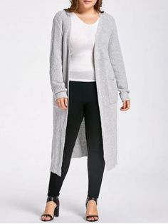 GET $50 NOW | Join RoseGal: Get YOUR $50 NOW!https://www.rosegal.com/plus-size-sweaters-cardigans/plus-size-slit-open-front-1281033.html?seid=7697589rg1281033