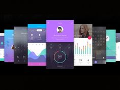 Do is an incredible free to-do ui kit including 130 screens, 10 unique themes and more than 250 elements for Adobe Photoshop and Sketch app. A freebie released on InVision.