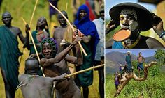 Laws were passed by the Ethiopian government in 1994 banning stick fighting, but the tradition nevertheless lives on Ethiopian Tribes, Stick Fight, Picts, My Heart Is Breaking, Martial Arts, Africa, Photo And Video, Image, Young Men