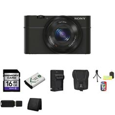 Sony DSC-RX100 Digital Camera + External Rapid Charger + 16GB SDHC Memory Card (Class 10) + NP-BX1 Lion Battery + Carrying Case + Mini Tripod Kit + USB SDHC Reader + Memory Wallet - http://www.discountbazaaronline.com/sony-dsc-rx100-digital-camera-external-rapid-charger-16gb-sdhc-memory-card-class-10-np-bx1-lion-battery-carrying-case-mini-tripod-kit-usb-sdhc-reader-memory-wallet/