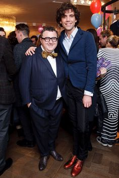 Mika and Alber Elbaz 2009