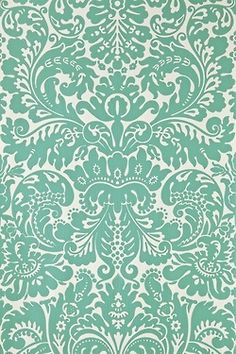apply to back of glass fronted cabinets The Silvergate Papers - eclectic - Wallpaper - Other Metro - Farrow & Ball Eclectic Wallpaper, Luxury Wallpaper, Pretty Patterns, Color Patterns, Wallpaper Backgrounds, Iphone Wallpaper, Wallpapers, Damask Wallpaper, Accent Wallpaper