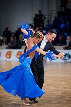 Simone Segatori and Annette Sudol - WDSF Grand Slam Standard Helsinki 5 March 2016