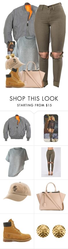 """""""Untitled #1603"""" by power-beauty ❤ liked on Polyvore featuring Fendi, Timberland and Chanel"""