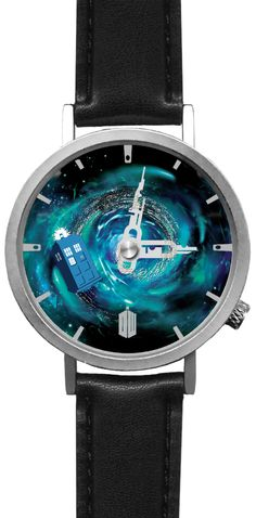 The TARDIS moves with every second, it's kinda distracting but an awesome conversation starter. :)