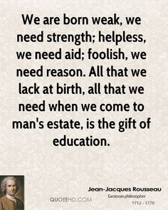"Jean-Jacques Rousseau (1712 - 1778), Genevan philosopher, writer, & composer. Best known for his philosophical work ""The Social Contract (1762)"