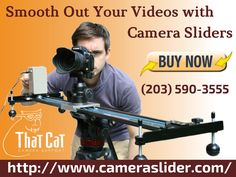 If you are looking for a video camera sliders to make your videos amazing? Silent Cat™ technicians designed the variety of sliders to achieve a controlled camera tracking movement and to fulfill needs of the modern world of shooting. Take a look at our website to know more about our sliders. Contact us: (203) 590-3555.
