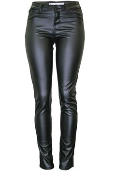Super Chic5-Pocket-Styled Skinny Motorcycle Pant. These Faux-Leather Pants are Made of Ponte Fabric, a Rayon/Polyester/Spandex Blend Created forMovement and