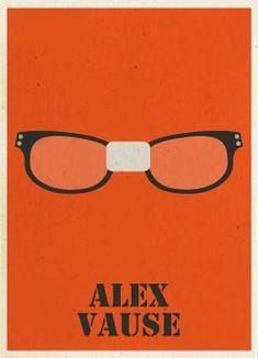 minimal orange is the new black poster