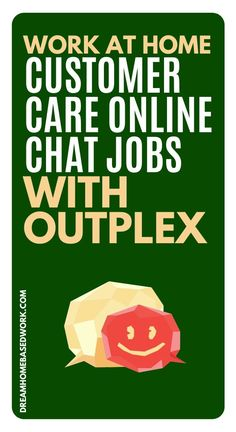 Outplex, formerly referred to as is currently hiring work at home personnel who can work as customer service representatives. Earn Money Online Fast, Earn Money From Home, Work From Home Companies, Work From Home Jobs, Home Based Work, Customer Service Jobs, Work For Hire, Typing Jobs, Virtual Assistant Jobs