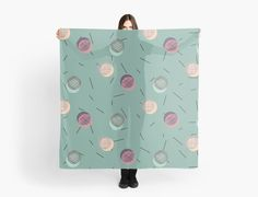 Seamless pattern with colorful scrawled polka dots and sticks. Decorative, delicate, wallpaper, from hand drawing by DesigndN. • Also buy this artwork on apparel, stickers, phone cases, and more.