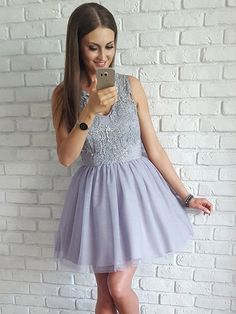 Custom Made Dazzling A-Line A Line Homecoming Dresses,Short Prom Dresses,Cute Homecoming Dress,Tulle Homecoming Dresses,Sweet 16 Dresses Simple Homecoming Dresses, V Neck Prom Dresses, Dresses Short, Sweet 16 Dresses, Cheap Dresses, Bridesmaid Dresses, Formal Dresses, Dress Prom, Party Dresses