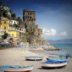 | ♕ | Cetara Beach - Amalfi coast, Italy | by © jjamv