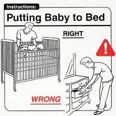 Parenting Do's and Don'ts : Putting Baby To Bed