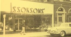 Issoksons in the 60's. Main street.