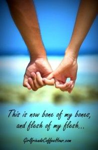 Bone of my Bones - Flesh of my Flesh -- Chapter 2 of Captivating by John & Stasi Eldredge.  #Online Women's Bible Studies #Girlfriends Coffee Hour