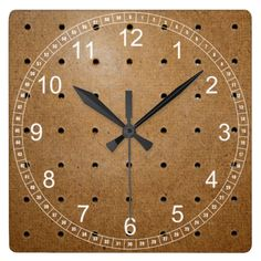 >>>best recommended Pegboard Square Wall Clocks Pegboard Square Wall Clocks In our offer link above you will seeHow to Pegboard Square Wall Clocks lowest price Fast Shipping and save your money Now!!...Cleck Hot Deals >>> http://www.zazzle.com/pegboard_square_wall_clocks-256230282261422539?rf=238627982471231924&zbar=1&tc=terrest
