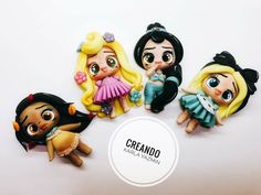 Disney Word, Kawaii, Clay, Biscuit, Pasta, Ideas, Cold, Ear Rings, Appliques