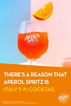 Taste and see why Aperol Spritz is Italy's Cocktail. Here's how to make it. Fun Drinks, Yummy Drinks, Alcoholic Drinks, Cocktails, Beverages, Weight Loss Drinks, Weight Loss Smoothies, Vol New York, Juices For Energy