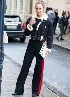 Paris Fashion Week Street Style March 2017
