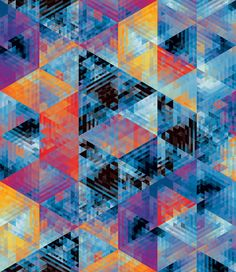 Andy Gilmore's painstakingly created geometric patterns are beautifully hypnotic
