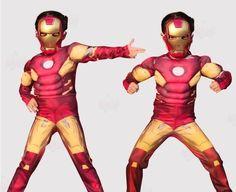Iron-Man Costume For Kids