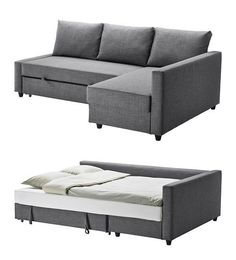 The only problem with this one is that it doesn't have slipcovers. Ikea Friheten Corner Sofa with bed www.ikea.com/…