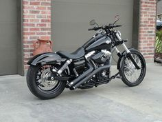 2012 harley wide glide drag bars | preview