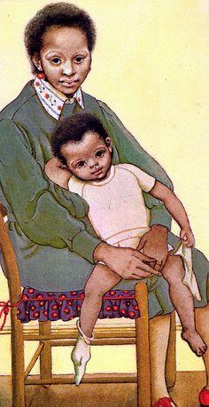 Prayers for Boys & Girls, Eloise Wilkin, 1975- Mother & Son