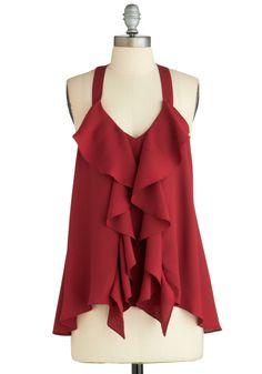 Merlot and Behold Top | Mod Retro Vintage Short Sleeve Shirts | ModCloth.com - $42.99