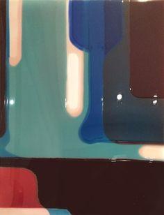 thunderstruck9:  Peter Zimmermann (German, b. 1956), Untitled, 2008. Epoxy resin on canvas, 24 х 17.75 in.
