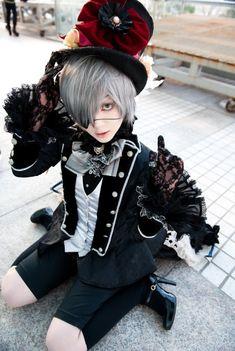 Kuroshitsuji: Ciel Cosplay