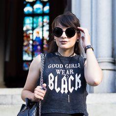 Look do Dia: Good Girls Wear Black
