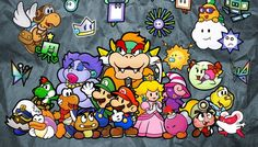 Rumour: Intelligent Systems Is Working On New Paper Mario For Wii U Mario Video Game, Video Game Art, Video Games, Super Mario Art, Super Mario World, Princesa Peach, Paper Mario, Mario And Luigi, Mario Brothers