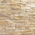 Urestone, Stacked Stone #35 Desert Tan 24 in. x 48 in. Stone Veneer Panel (4-Pack), DP2625-35 at The Home Depot - Mobile
