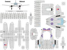 4D model template of P-51B Mustang