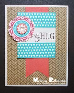 Heartfelt Sentiments: February Stamp of the Month Blog Hop - A Happy Hello #Seaside #D1584BigHug