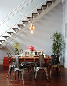 Get the Look- Industrial Meets Mid-Century Modern