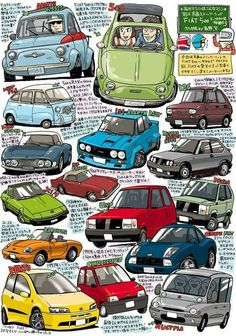 Fiat Panda, Auto Illustration, Supercars, Arte Do Hip Hop, Automobile, Rock Poster, Fiat 500, Car Sketch, Car Drawings
