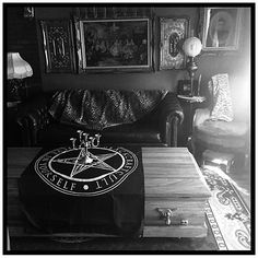 Occult Room Decor