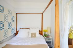 LOVE the quilt. And the bedding.  Jennifer's Streamlined Simplicity
