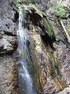 Mahový vodpád tvorí voda pretekajúca vo viacerých prúdoch cez machom porastenú stenu. Vodopád sa nachádza v rokline Malý Kyseľ a má výšku 8 metrov.