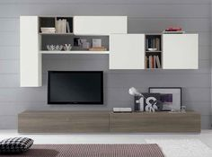 Modern Wall Unit Exential Y48 by Spar - $4,159.00