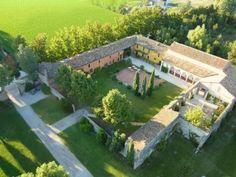 Convento dell'Annunciata - Vista aerea della dimora storica