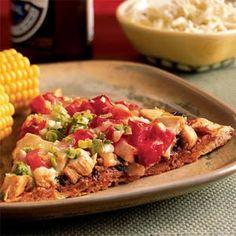 Pizza Recipes Under 300 Calories  | BBQ Chicken Pizza | MyRecipes.com