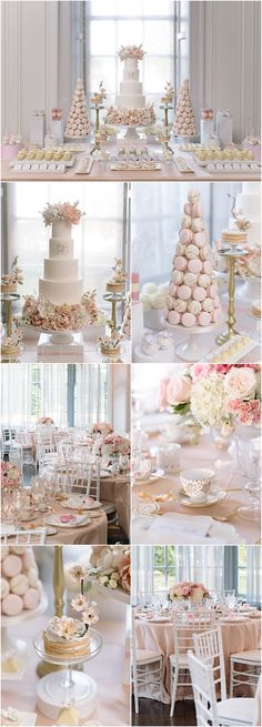 pink wedding reception idea This Toronto wedding fills us with romantic pink inspiration overload! See the flawless captures by Mango Studios. Pink Wedding Receptions, Wedding Reception Food, Wedding Decorations, Sweet Table Decorations, Candy Bar Wedding, Wedding Desserts, Spring Wedding, Diy Wedding, Dream Wedding